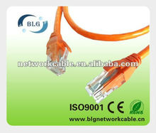 Best price UTP Cat5e 0.51mm CCA patch cord network cable