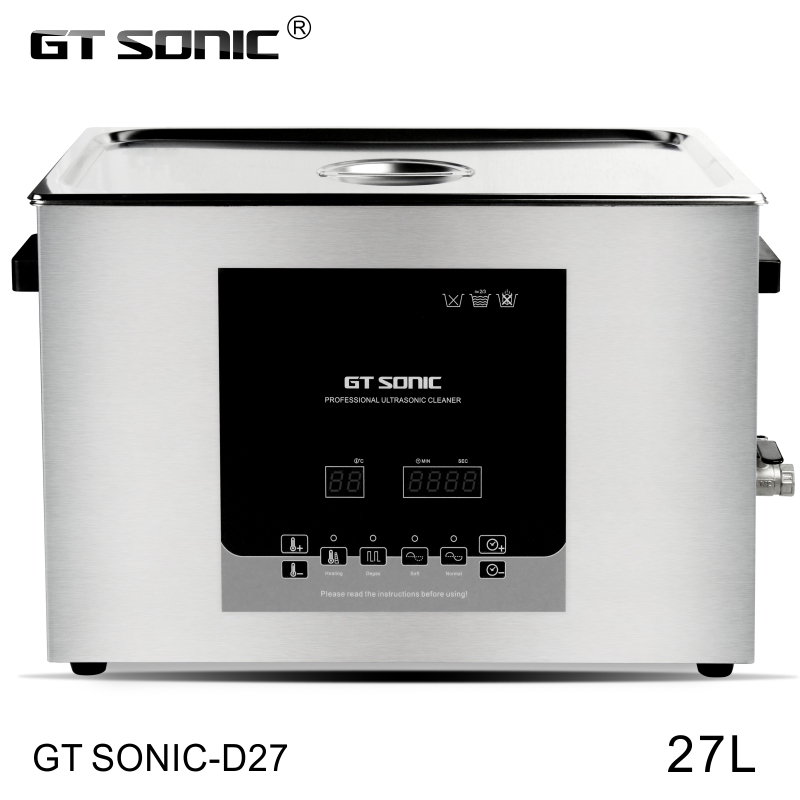 stainless steel 27L high power ultrasonic cleaner for pcb electronic parts