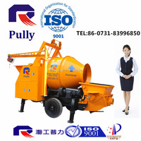 300m Vertical Reach Concrete Mixer Pump