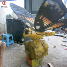 Artificial Animatronic Big Insects Attractive Ornament