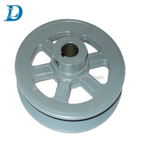 Cast Iron Material V Belt Type Cement Mixer Pulley Wheels