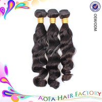 2015 Aofa hot selling real natural brazilian wholesale brazilian hair styles pictures for vendors