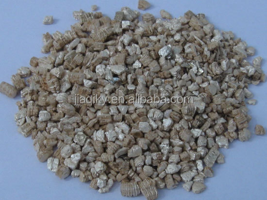 High quality silver expanded vermiculite low price for construction