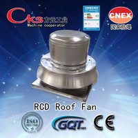 Hot ventilated smoke exhaust explosion-proof domestic roof fan