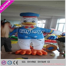2015 lilytoys fantastic large funny duck character 2.3M advertisement of new product