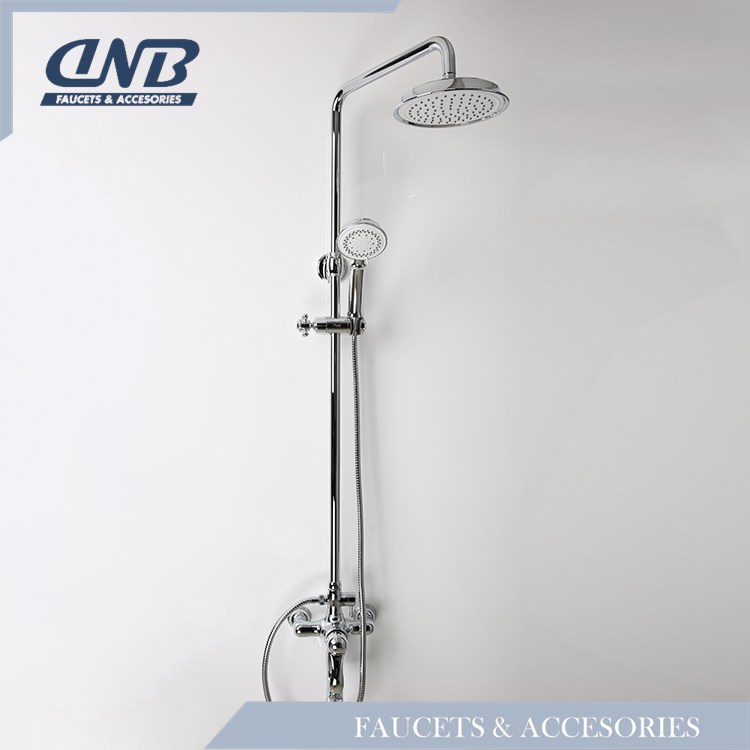 Luxury Sanitary Ware Shower Faucet Set, Thermostatic Rain Shower Faucet Set