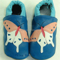 fashion flat laser breathable soft sole leather upper wholesale kids shoes