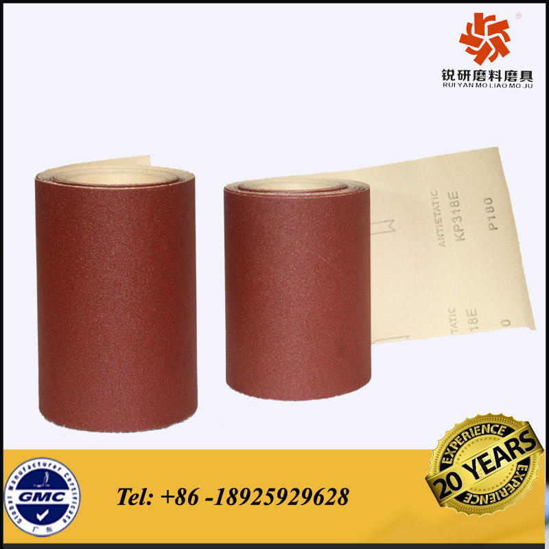Emery polishing papers for grinding metal and furnitures