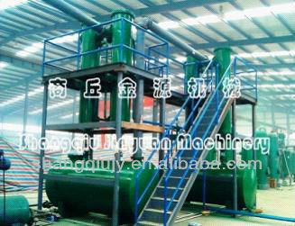 EU&USA standard of waste plastic to diesel oil machine with CE,SGS,ISO