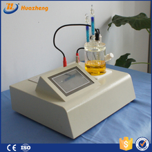 Auto titration with Karl Fischer reagent
