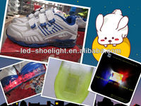 no wires ,waterproof, shake control flashing led shoe light