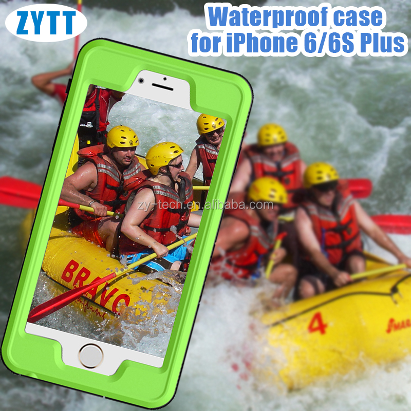 OEM custom waterproof phone case for iPhone 6 ,Redpepper waterproof case