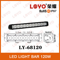 10320lm high power tuning light car light 120w led bar lamp