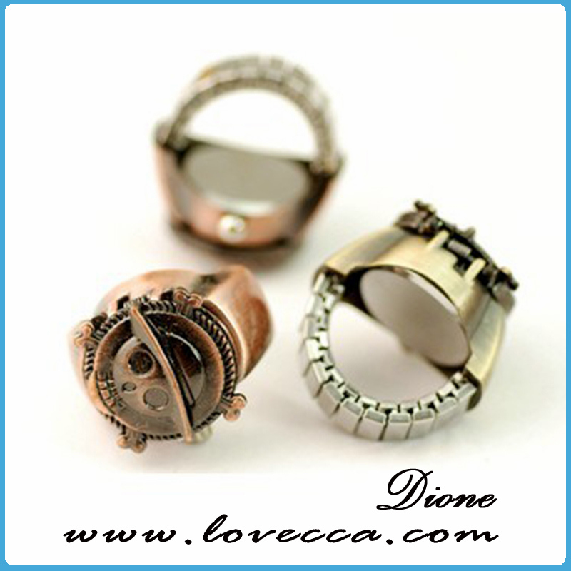 Latest High Quality girls Finger Ring Watch