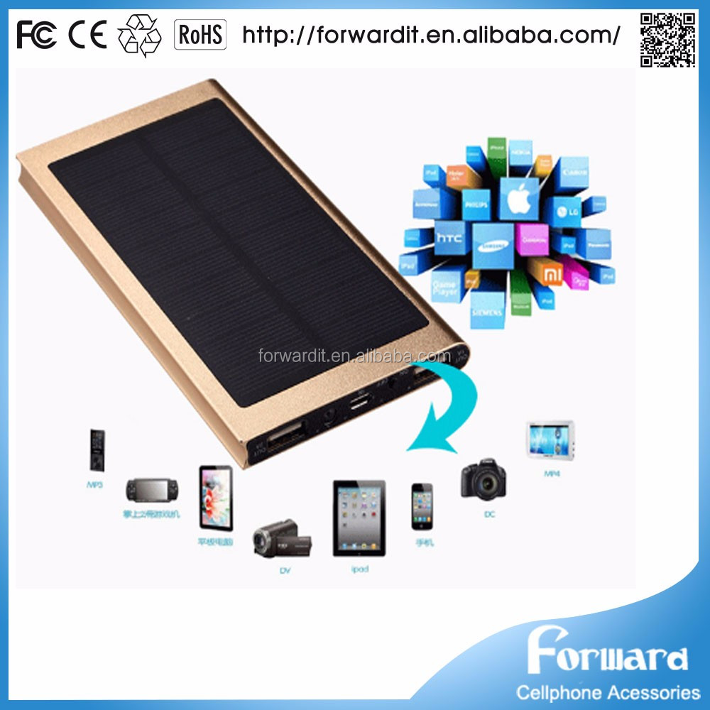 New Arrival 12000 Mah Solar Power Bank,12000mah Solar Power Bank
