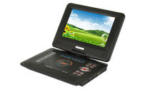9.8 Inch Portable DVD Player with TV tuner and Radio