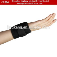 New design black color waterproof neoprene wrist support sports safety wrist brace basketball/tennis weight lifting wrist wraps