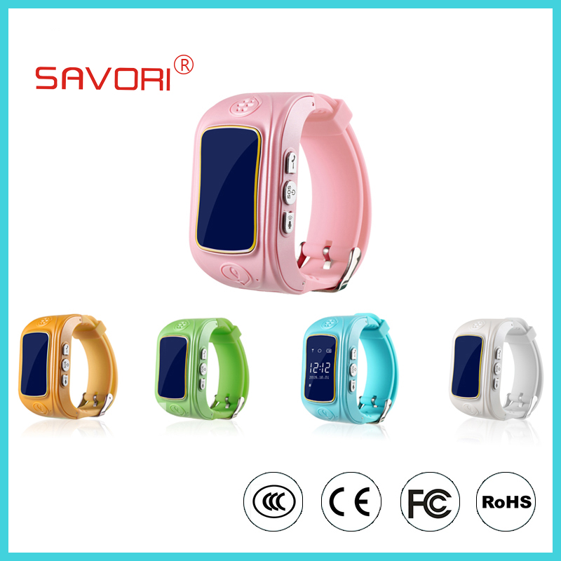 GPS Tracker LBS Kids Children Smart Watch with SOS Emergency Function