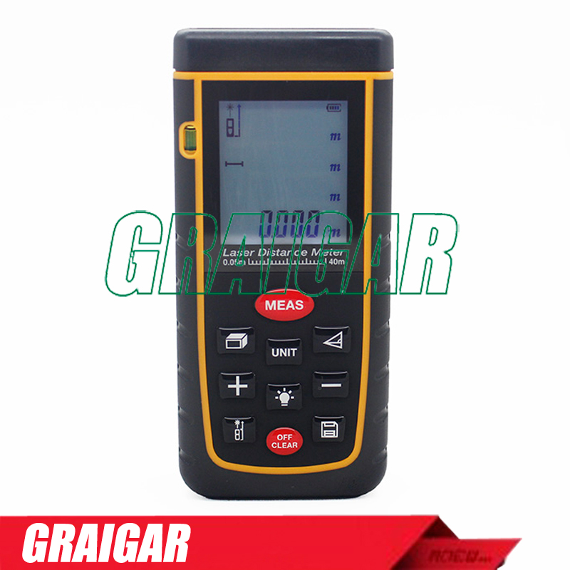 Handheld Digital RZ-A40 precision durable safety Laser Distance Meter Rangefinder with Area 40m Measure Laser RZ-A40