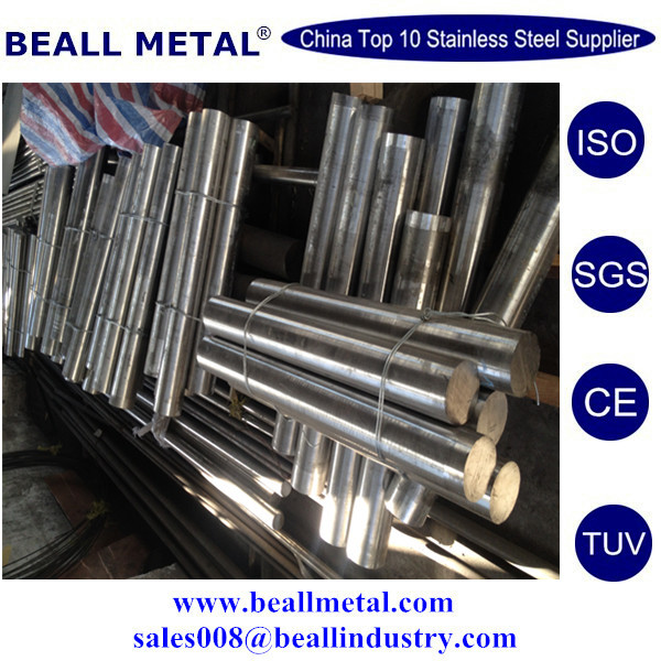 forged round bar, material 1.2379, heat treated to 60-62 HRC hardness