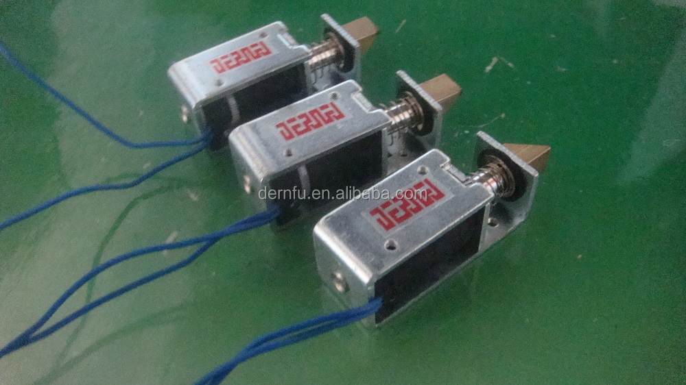 Solenoids for Electronic Appliances (cameras;automatic door locks;Game Machines,Money Exchangers;cash registers;Vending Machines