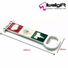 Hot Sell Frige Magnet with bottle opener for Italy Milano tourist souvenir