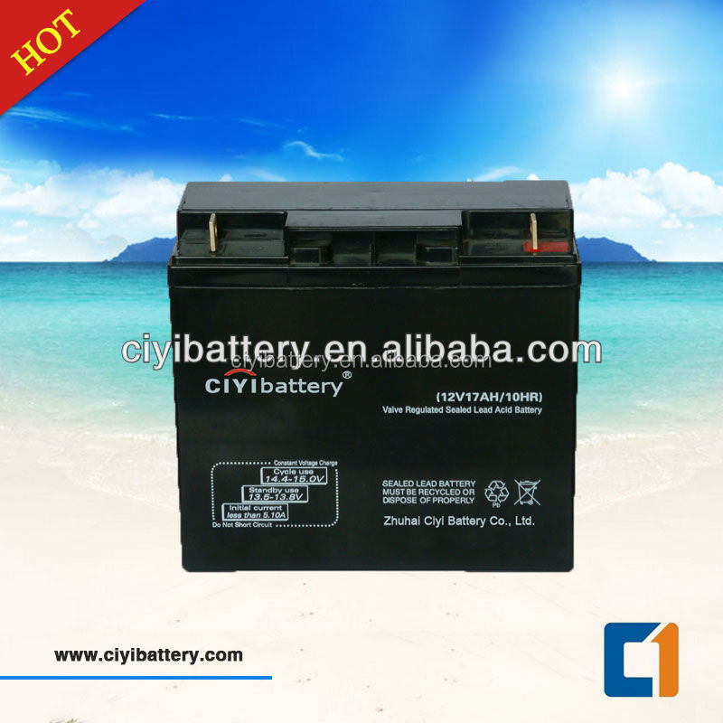 MF AGM Battery UPS battery 12V 17AH Sealed Lead Acid Battery