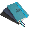 A5 A6 Personalized engraved faux leather bound writting journal notebook