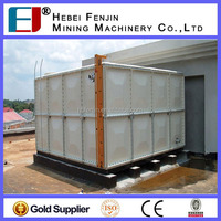 Hot Sale ! GRP SMC Sectional Fiberglass Water Storage Tank/FRP Sectional Panels Tank Price