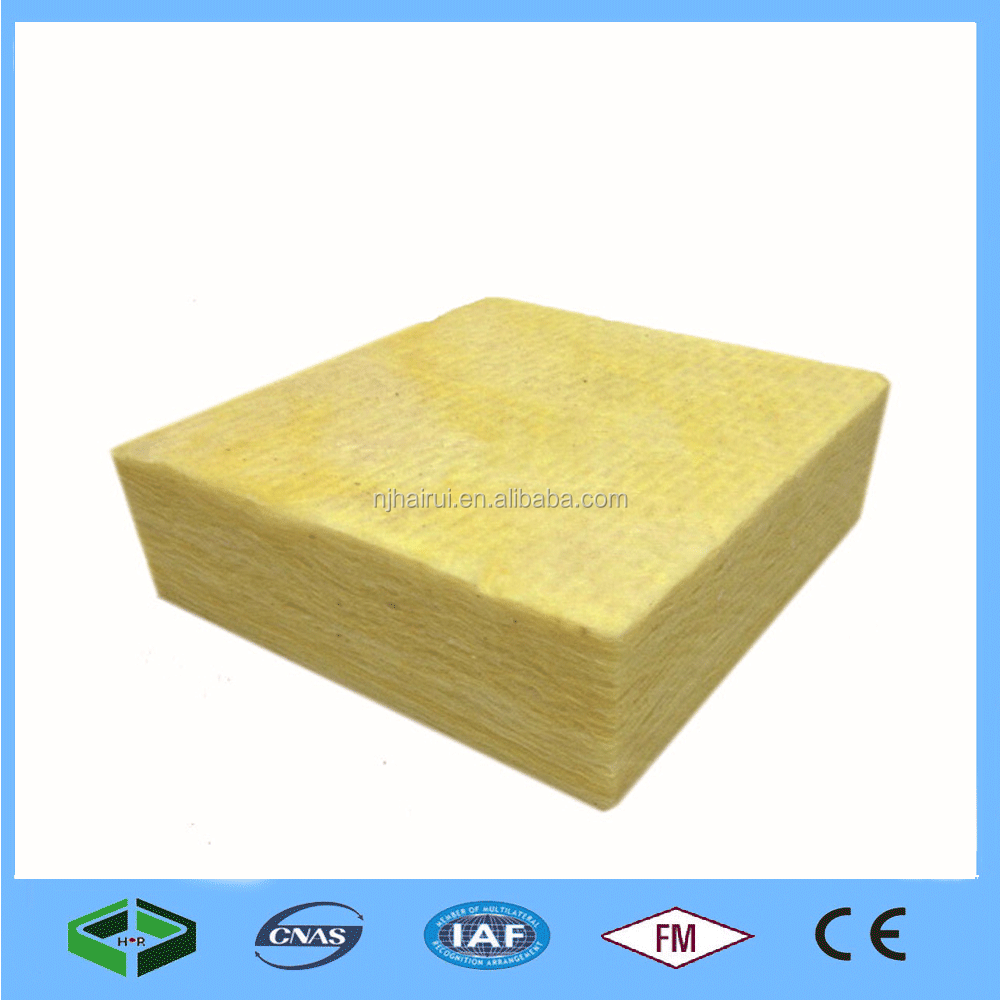 High Density Thermal Insulation Soundproof Glass Wool /Glass Wool Hydrophrobic