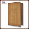 Customized LOGO teak wood finger joint board food menu