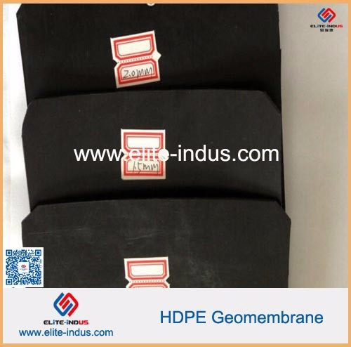 Construction Plastic roadbed material hdpe Geo Membrane