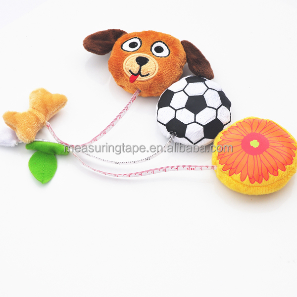 Made in China Children Funny Dog Animal Shaped Types of Measuring Tools