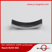 56000USD Trade Assurance N48 neodymium arc segment magnets for sales