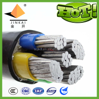 Retardant XLPE insulated PVC sheathed aluminum power cable ZR-YJLV-3*70+2*35