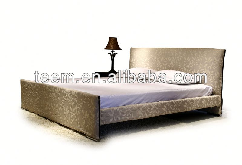 2014 Divany comfortable bed set adjustable bed headboard modern wooden bed A-B13