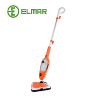 Elmar 10 in 1 Steam mop x5 x10 steamer cleaner 1300W top 10 steam mop in china, 4.5M cable length steam mop