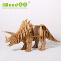 High Quality Wooden DIY Dinosaur Display Table