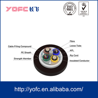 Medium Voltage Power Cable with Optical Fiber GDTA composite cable