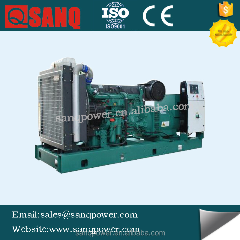 350kva generator capacitor power plant with TWD1643GE engine