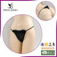 Long Experience Factory Valentine Comfortable Lace Thongs Slip
