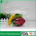 FOPP fruit packaging bag with vent holes and zipper
