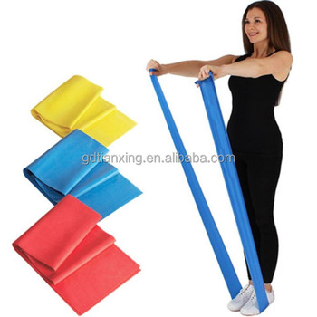 Latex resistance bands Gym Training