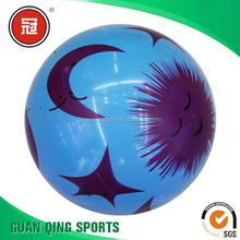 Moon Pattern Beach Ball Light Weight Balloon PVC Balls