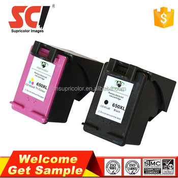Supricolor Compatible 650XL ink cartridge 1015 1515 replacement for hp 650xl cz101a cz102a