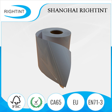 clear adhesive backed plastic film in rolls