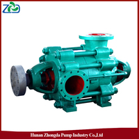 China ZHONGDA D Type High Pressure Horizontal Centrifugal Multistage Electric Motor Water Pump Set