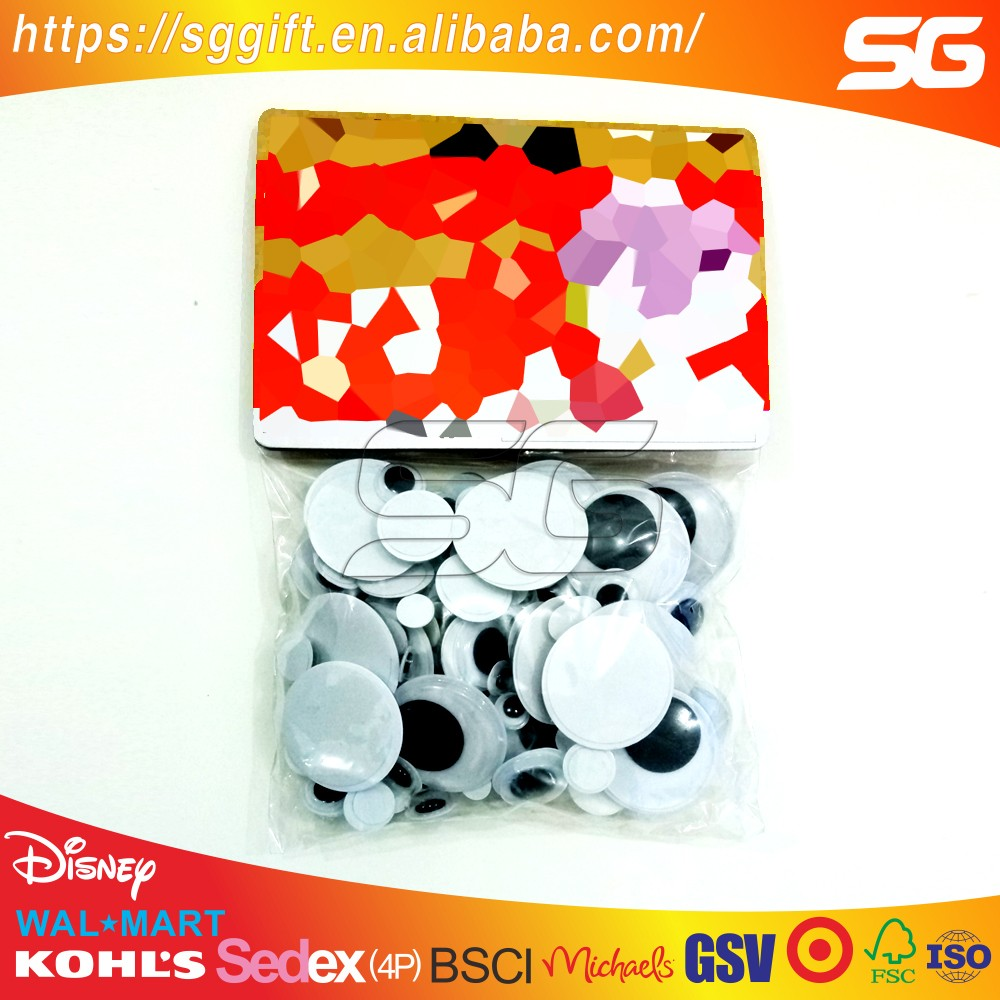 DIY Doll eyes Plastic moving eyes suit EN71-6P
