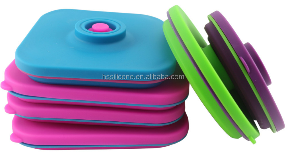New Arrival Silicone Travel Food Containers