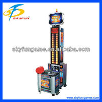 King of hammer arcade lottery ticket game machine for christmas